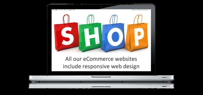 eCommerce Websites Online Shops Responsive Mobile Web Design
