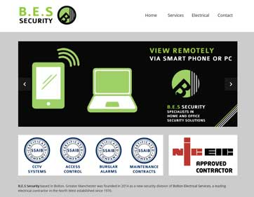 BES Security Alarms CCTV Bolton Manchester