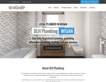 DLH Plumbing Local Plumbers Emergency Plumber Heating Wigan