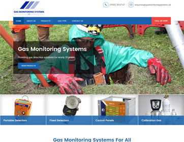 Gas Monitoring Systems and Detectors