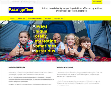 Kidz2gether Bolton Charity