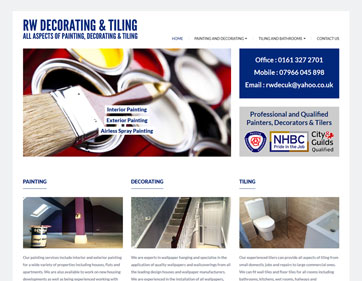 RW Decorating and Tiling in Radcliffe Manchester