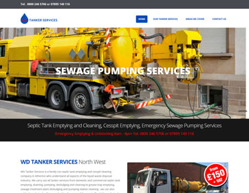 WD Tanker Services North West