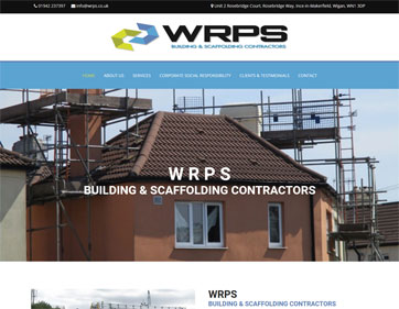 WRPS Building and Scaffolding Contractors Wigan